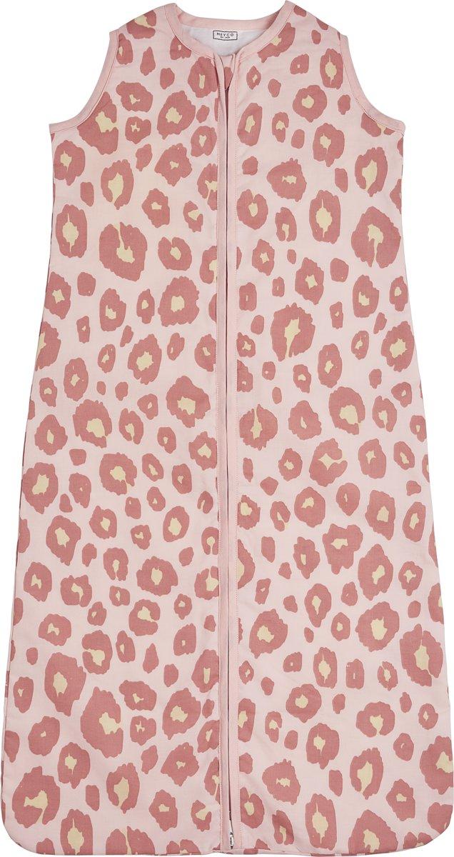 Meyco zomerslaapzak Panter - 90 cm - roze