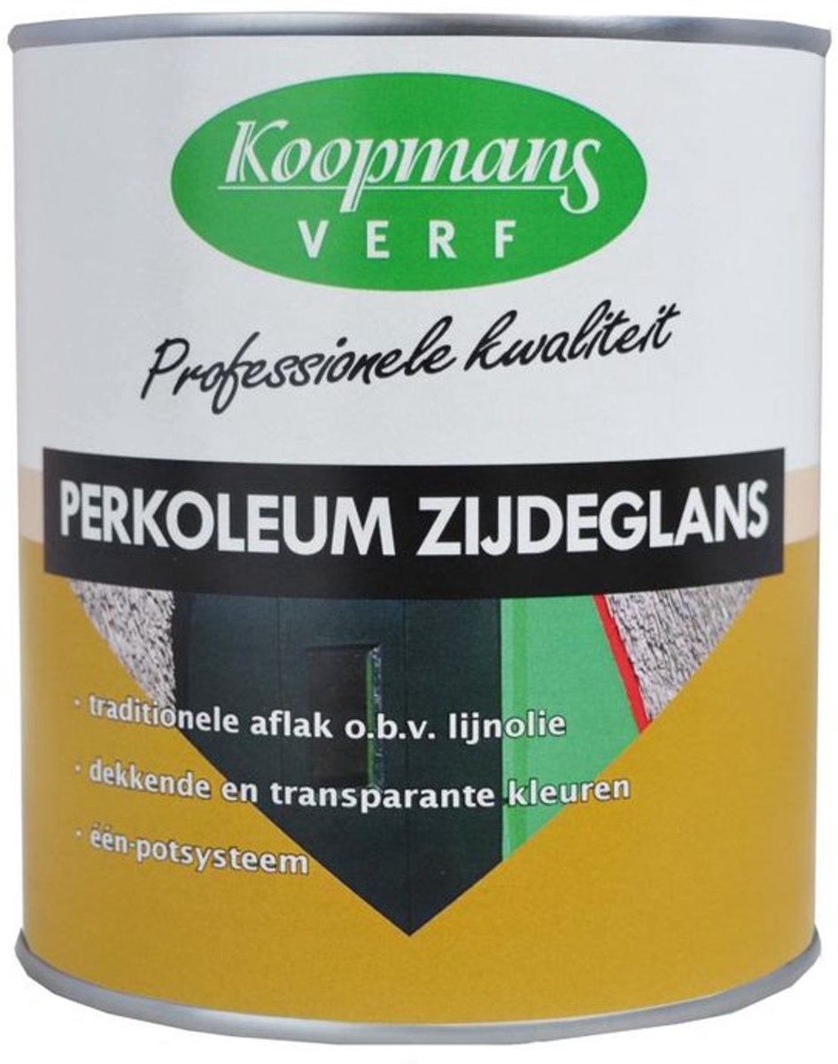Koopmans Perkoleum Beits Roomwit 302 Dekkend Zijdeglans 0,75 liter