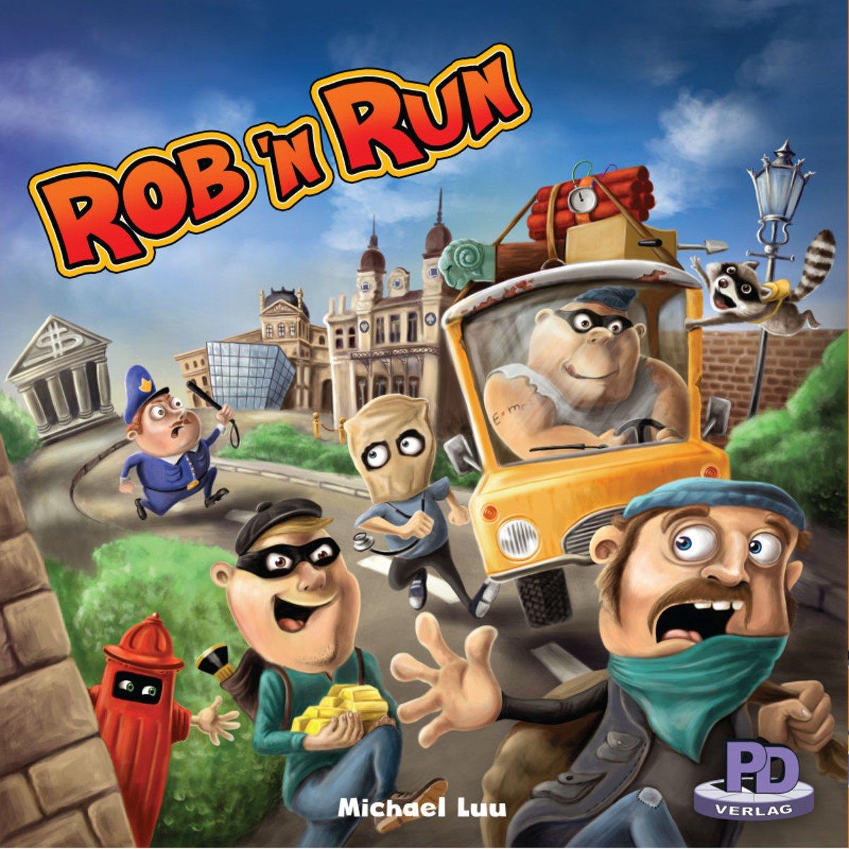 Rob 'N Run Bordspel (Engelstalige Versie)