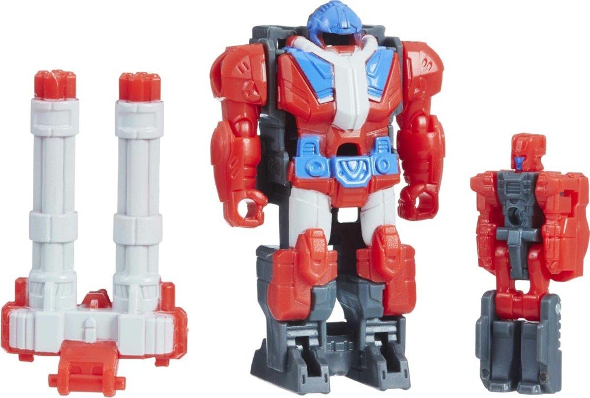 Hasbro Transformer Micronus Jongens 6 Cm Rood/grijs kopen