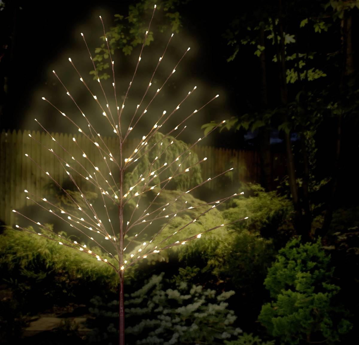 LED-boom 180 cm Warm-wit Bruin Polarlite PCA-03-001 PCA-03-001 kopen