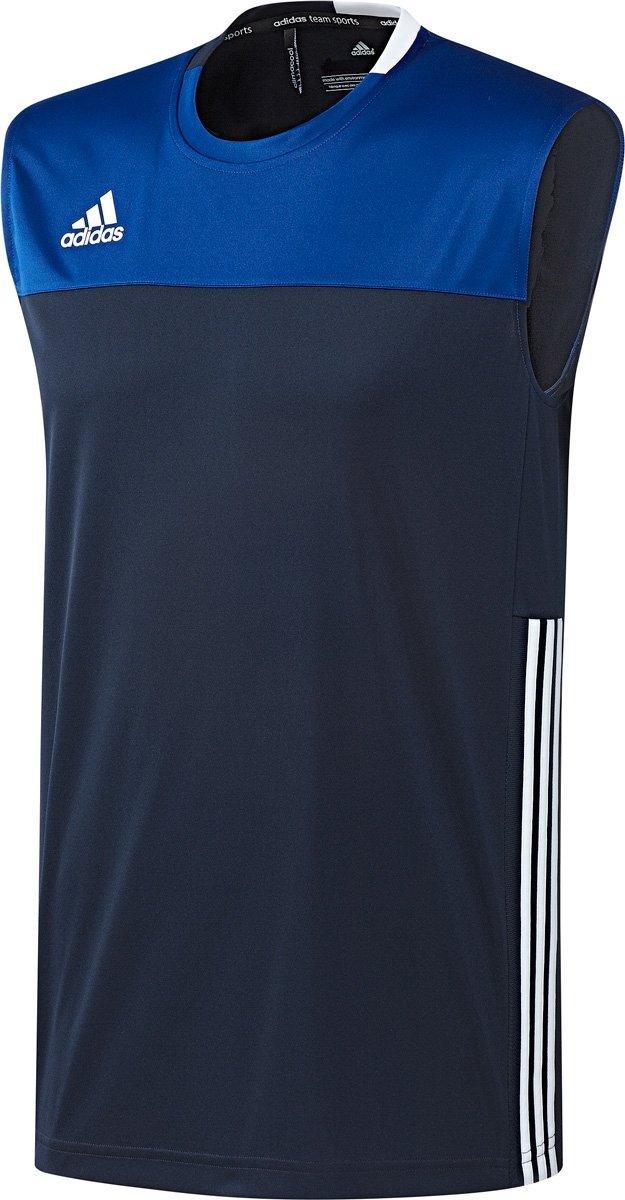 adidas T16 'Oncourt' Short Heren blauw donker | Hockeyhuis.nl