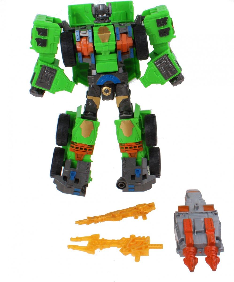 Jonotoys Transformer Groen 4-delig 23 Cm kopen
