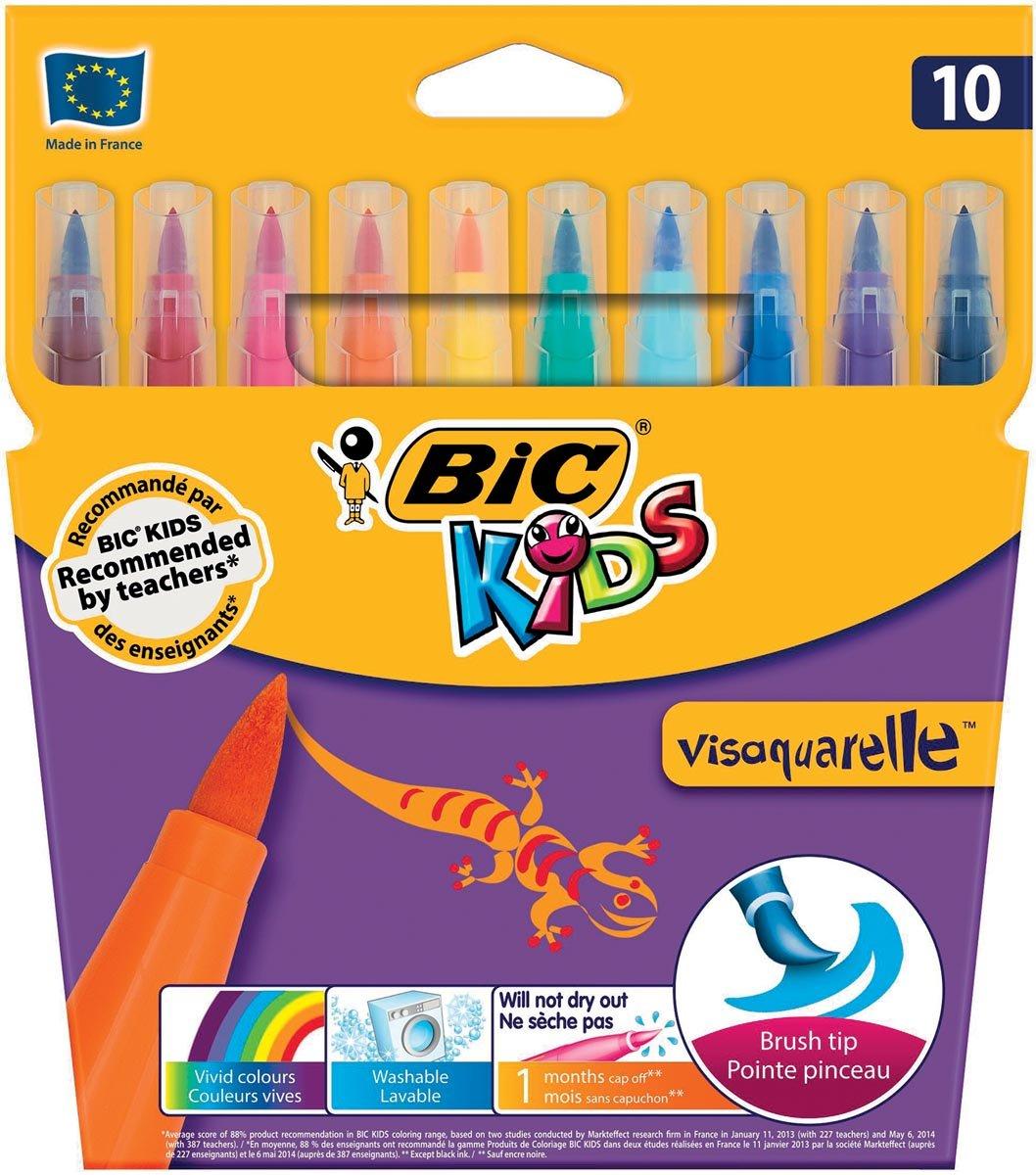 6x Bic Kids penseelstift Visaquarelle kopen