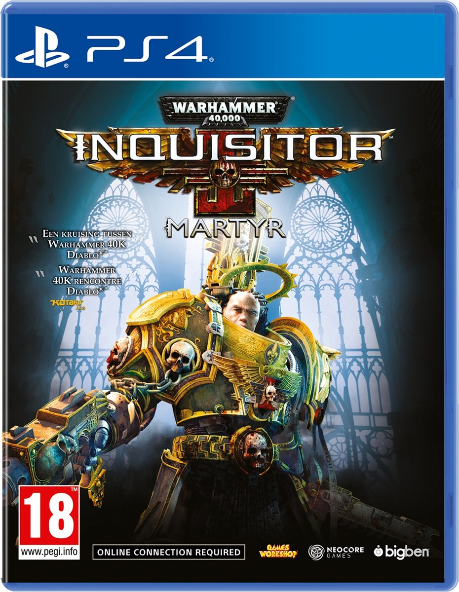 Warhammer 40K Inquisitor Martyr PlayStation 4