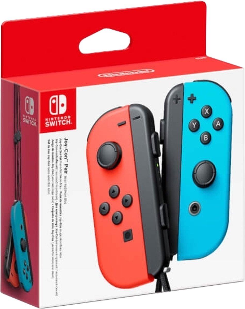 Nintendo Joy-Con (L/R) Gamepad Nintendo Switch Analoog/digitaal Bluetooth Blauw, Rood kopen