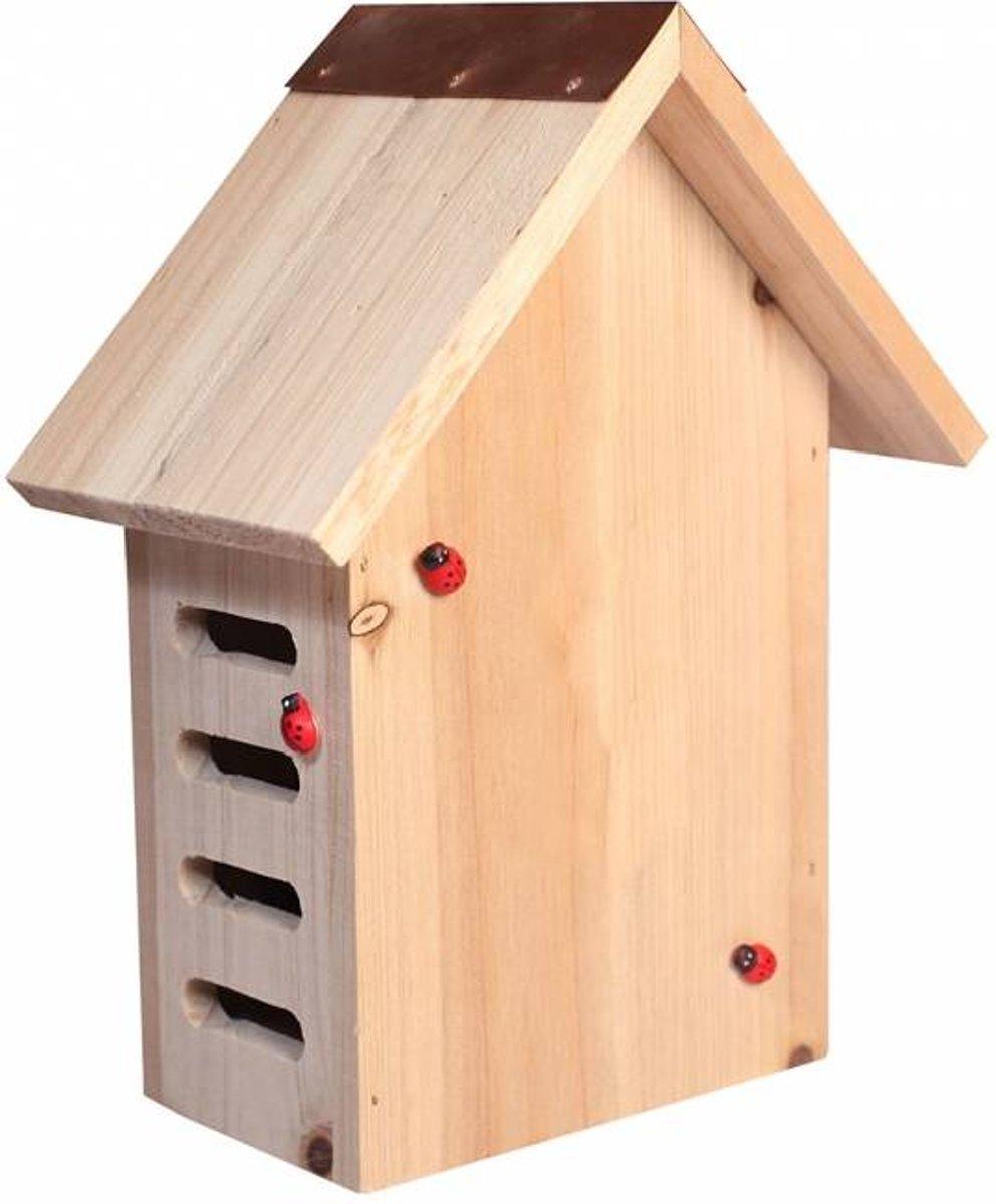 Lieveheersbeestjes huis / insectenhuis Nola 17,5x10x22,5CM kopen