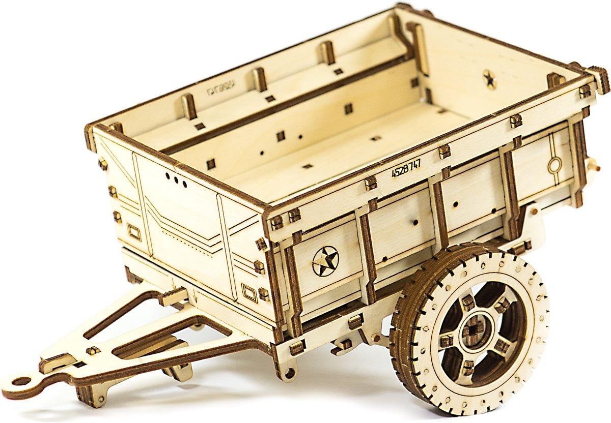 Wooden City Aanhanger voor 4x4 Jeep - Houten Modelbouw kopen