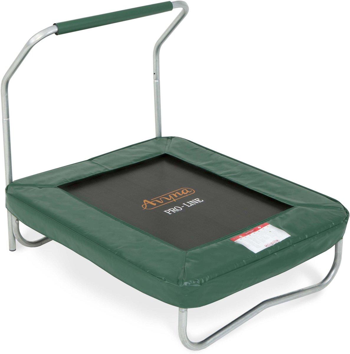 Avyna trampoline PRO-LINE 1,20 x 0,92 x 0,32 met beugel - Avyna Fitness