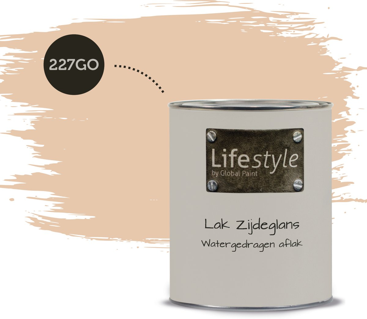 Lifestyle Lak Zijdeglans | 227GO | 0.5 liter