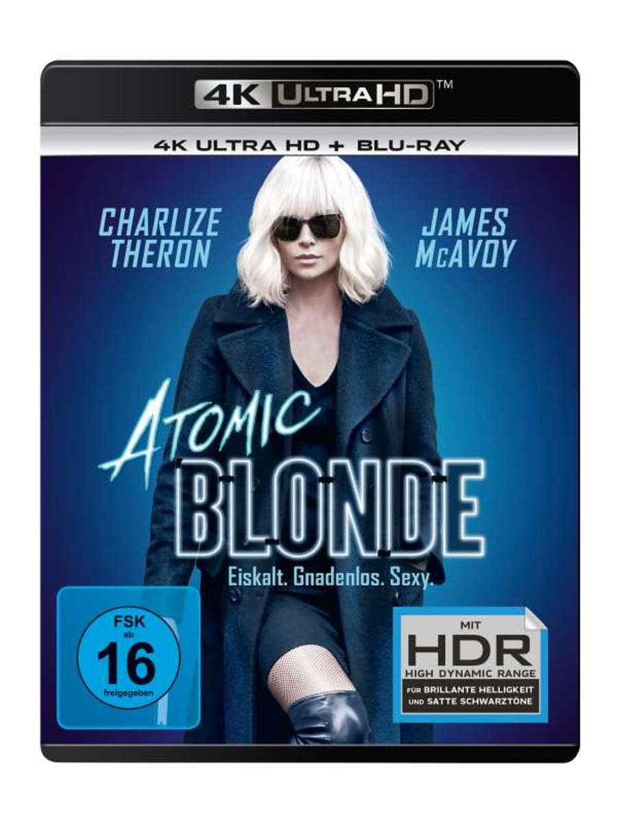 Atomic Blonde (Ultra HD Blu-ray & Blu-ray)-