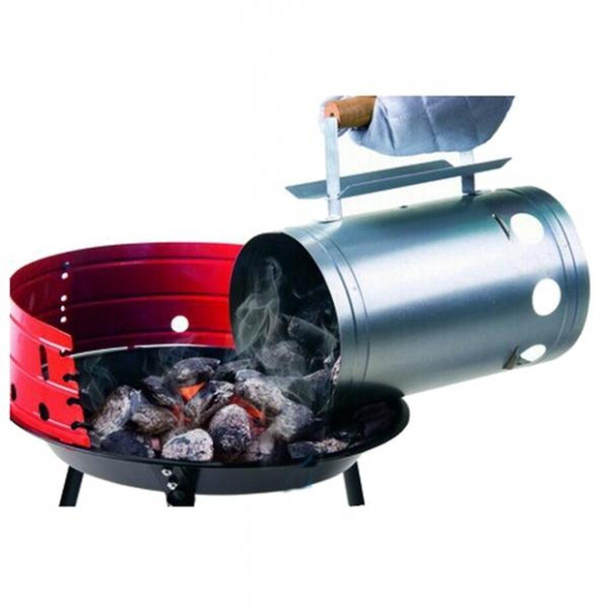 Houtskoolstarter voor barbecue - set van 2 stuks kopen