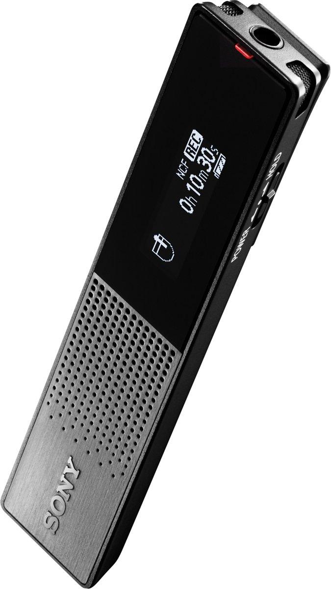 Sony Icd Tx650b Voicerecorder Zwart Tx800 Ultra Compact Digital Voice Recorder