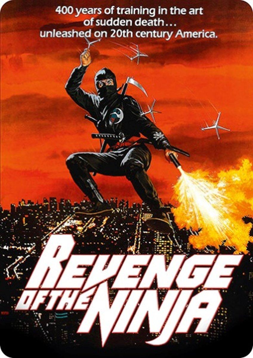 Revenge Of The Ninja (Steelbook) (Blu-ray) kopen