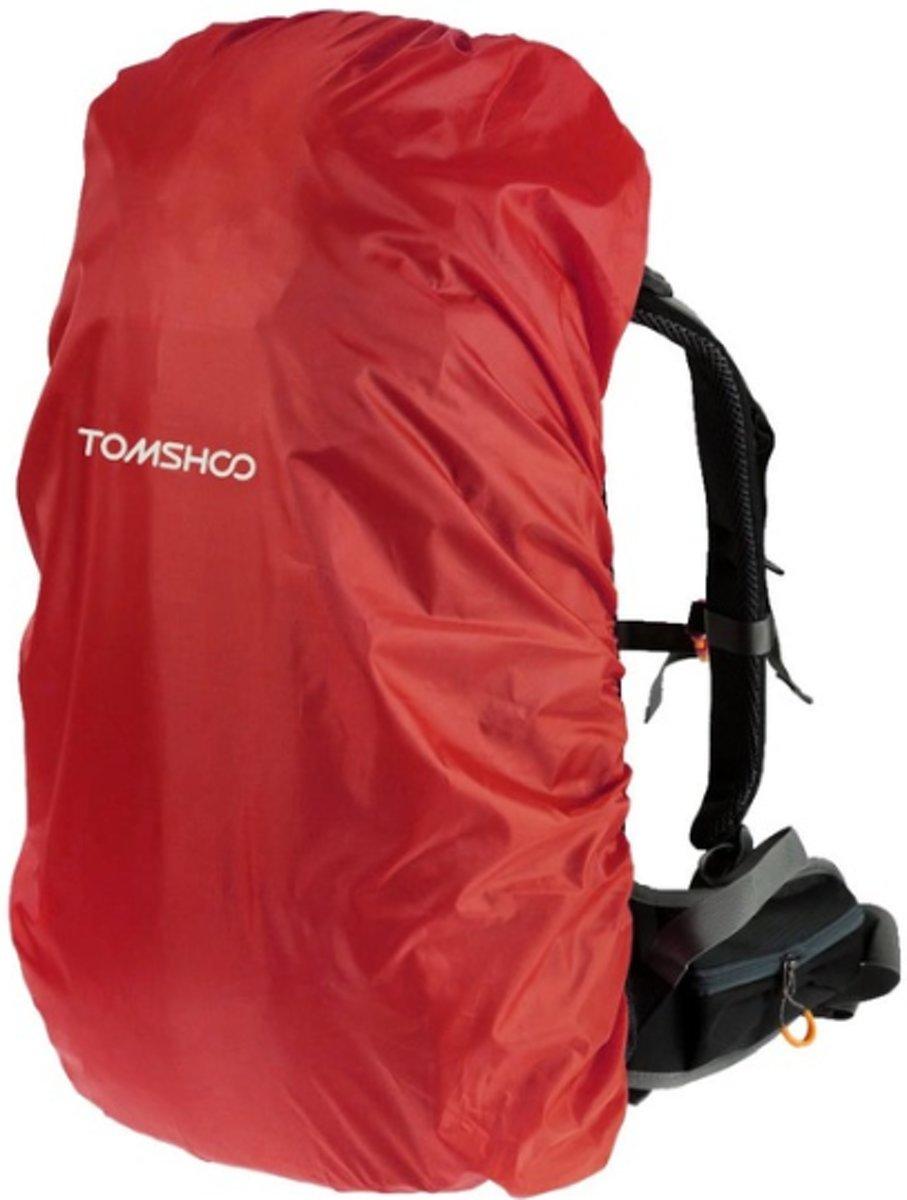 Universele backpack/rugzak regenhoes 40L-50L - Rood kopen