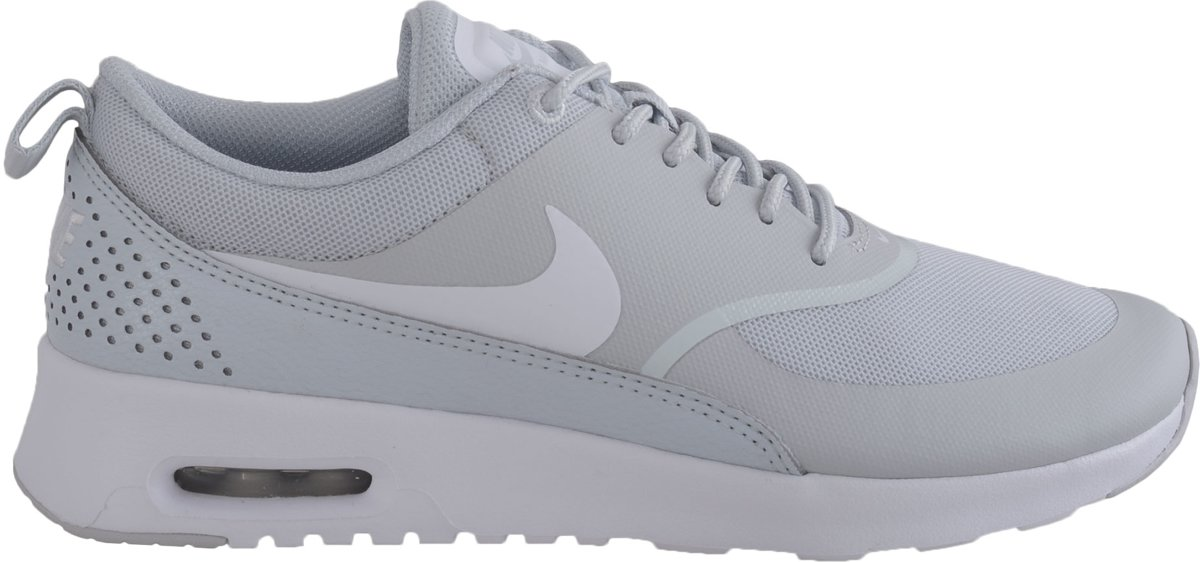 nike air max thea zwarte wolf grijs wit dames sneakers