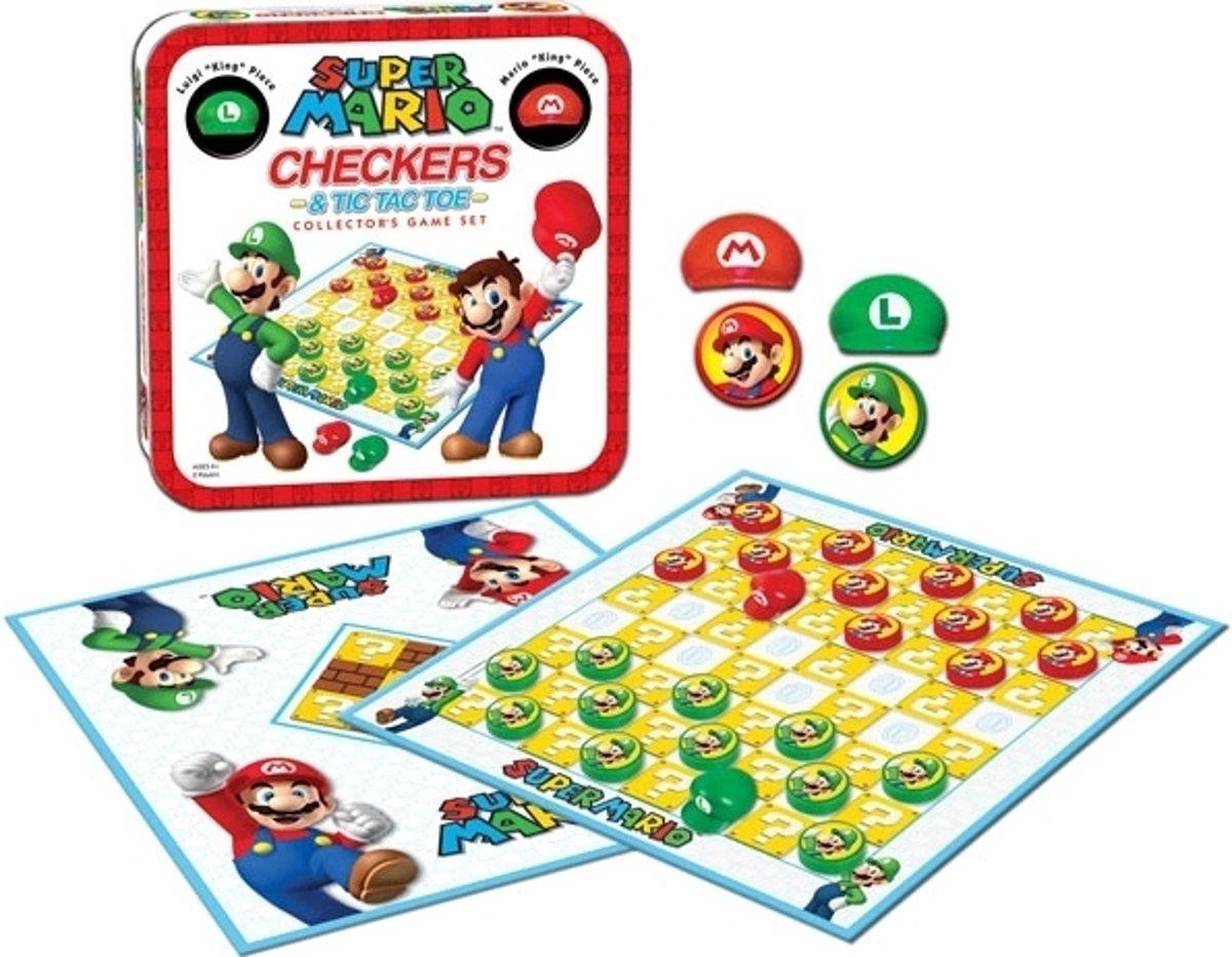 Super Mario Checkers Collectors Game Set