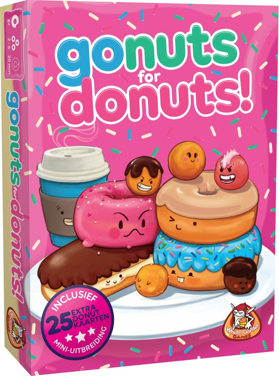 Go Nuts for Donuts! - Kaartspel