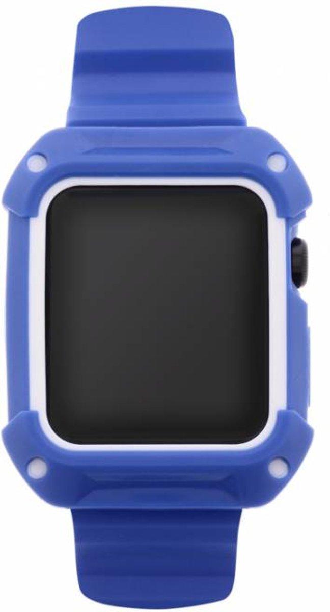 Blauwe Armour band voor de Apple Watch 38 mm kopen