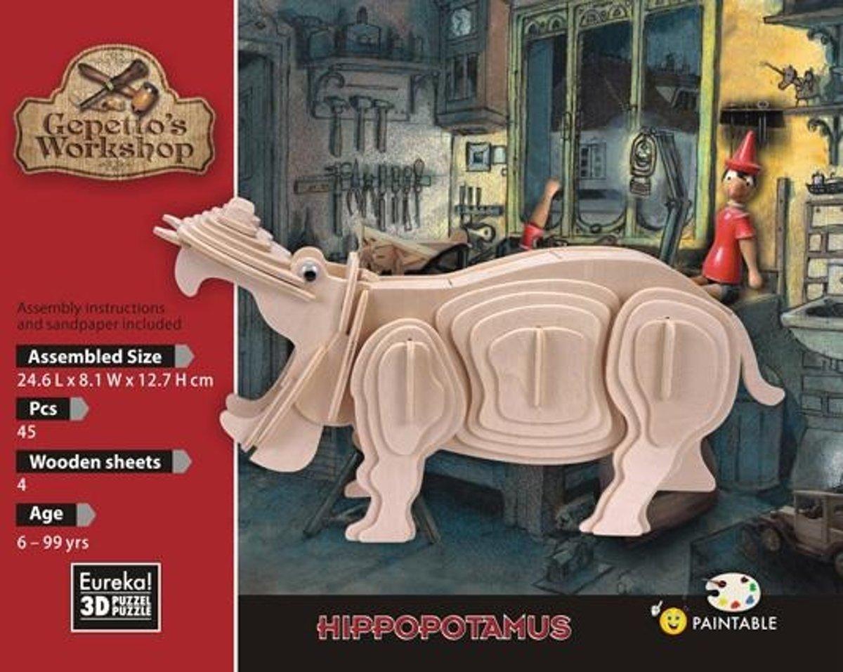 Gepetto's Workshop Hippopotamus
