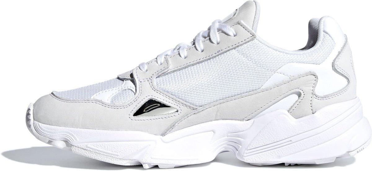 7d7c9290786 bol.com | Adidas Dames Sneakers Falcon W - Wit - Maat 40