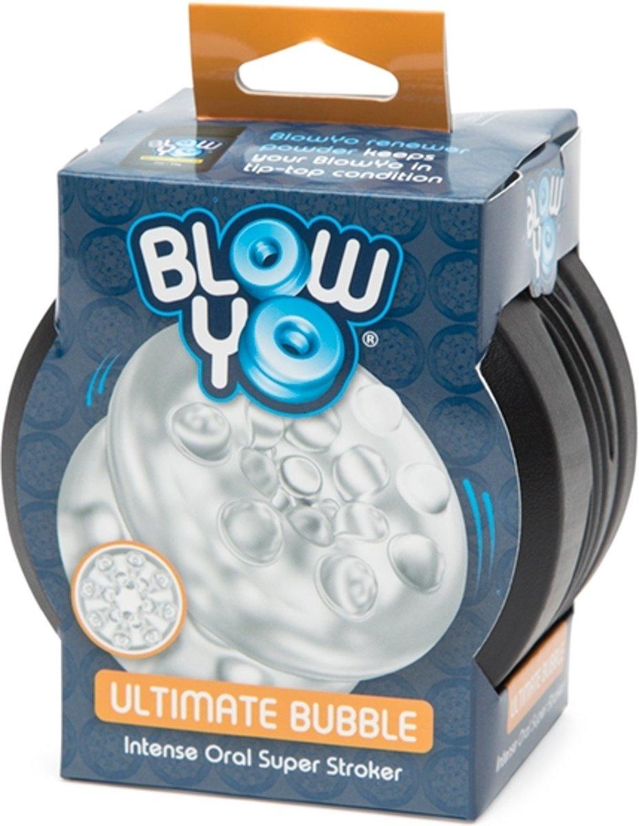 Foto van BlowYo - Ultimate Bubble - Intense Oral Super Stroker - transparant