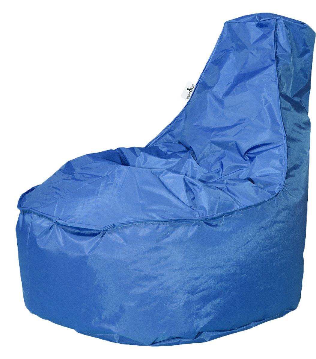 Drop & Sit zitzak Stoel Noa Large - Kobaltblauw - 320 liter kopen