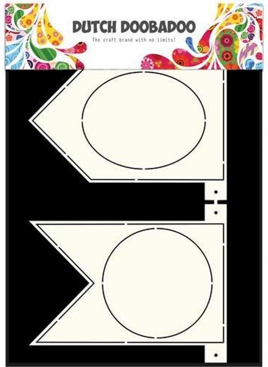 Dutch Doobadoo Dutch Card Art Stencil Banner Flaggetjes  A4 kopen