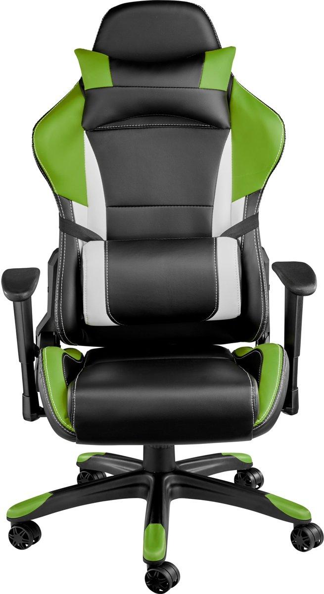 Bol tectake bureaustoel trinity premium racing style zwart