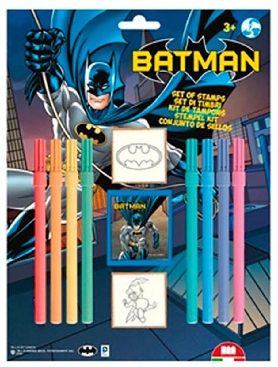 Multiprint Kleurset Batman 11-delig Blauw kopen