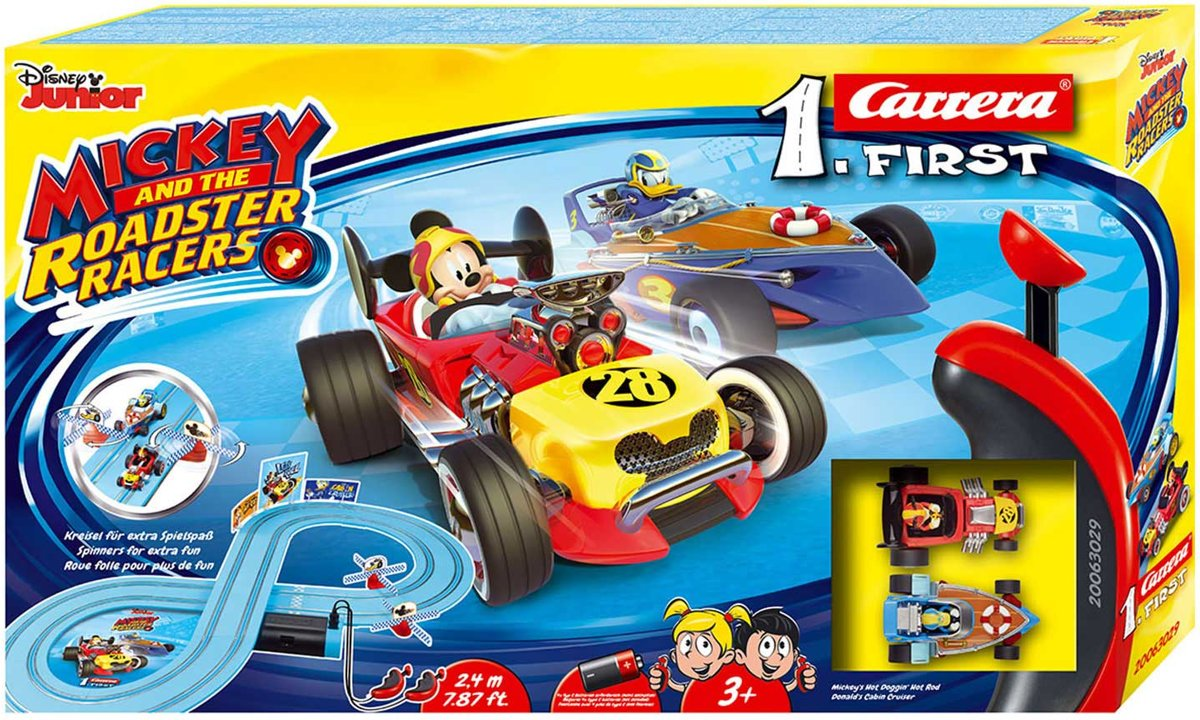 Carrera First Mickey and the Roadster Racers kopen