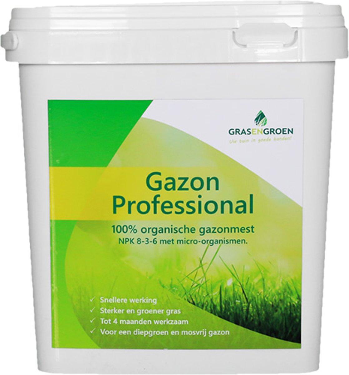 Gazonmest 3,5 kg voor 35 m² - Gazon Professional - 100% organisch