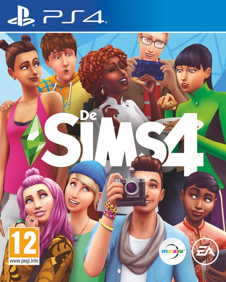 Electronic Arts The Sims 4, PS4 video-game Basis PlayStation 4