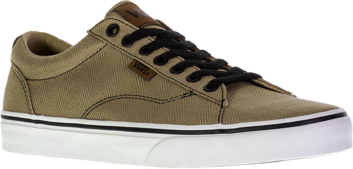 d1cb143e967cde bol.com   Vans Sneakers Dawson - Maat 44 - Mannen - goud/zwart/wit
