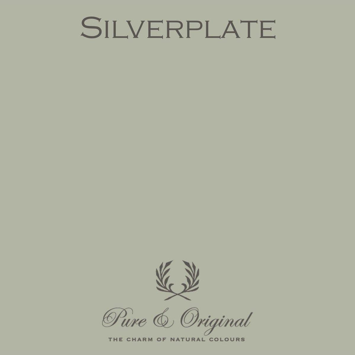 Pure & Original Fresco Kalkverf Silverplate 1 L