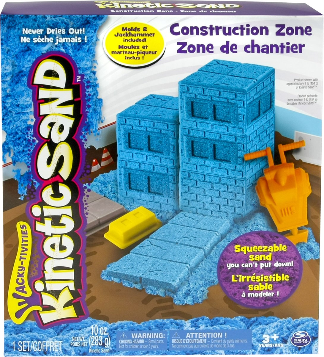 Kinetic Sand Construction Zone - Speelzand