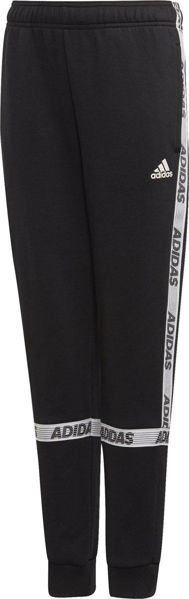adidas SID BR PANT Jongens Sportbroek - Black/White - Maat 116? kopen
