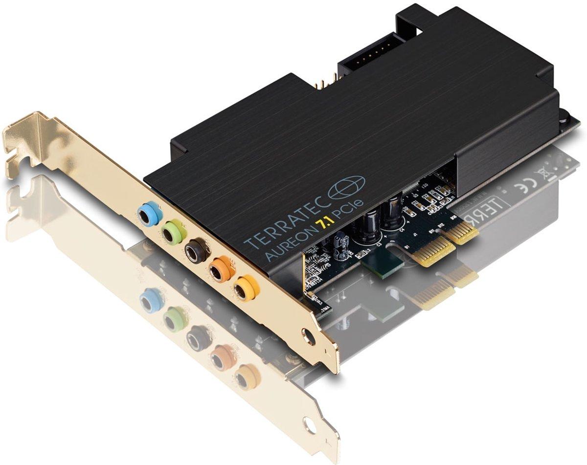 Terratec Aureon - 7.1 PCIe - Interne geluidskaart kopen