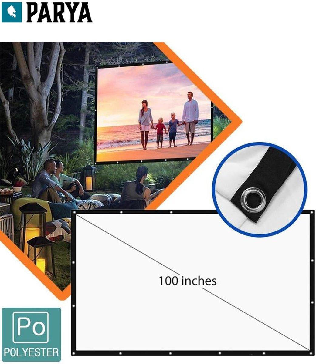 Parya projectiescherm 100 inch kopen