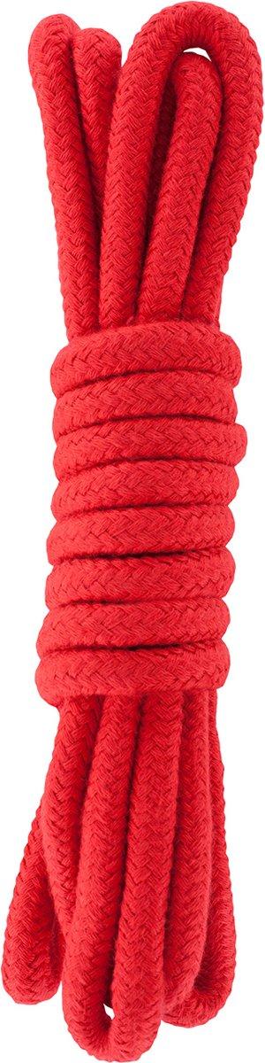 Foto van Hidden Desire Bondage Rope 3m (rood)
