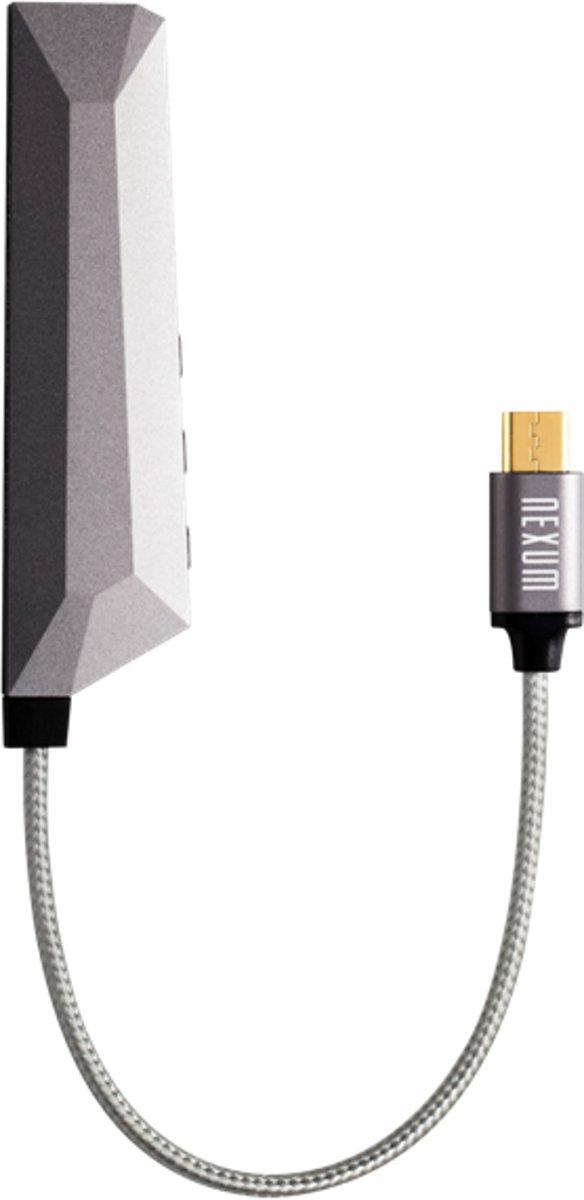 Nexum AQUA Micro Audio Versterker Micro USB Android Space Grey kopen