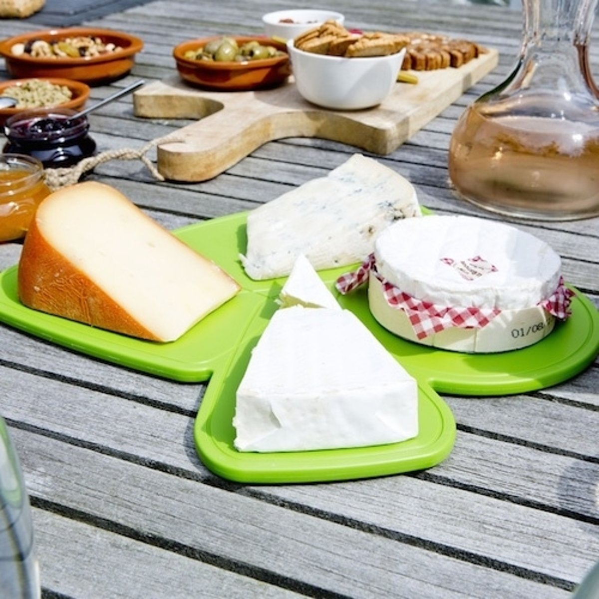 Royal VKB Cheese Puzzle Board - Olijf Groen