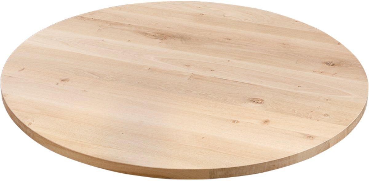 Rond Tafelblad 120 Cm.Table Du Sud Ronde Eiken Xx Tafel 110 Cm