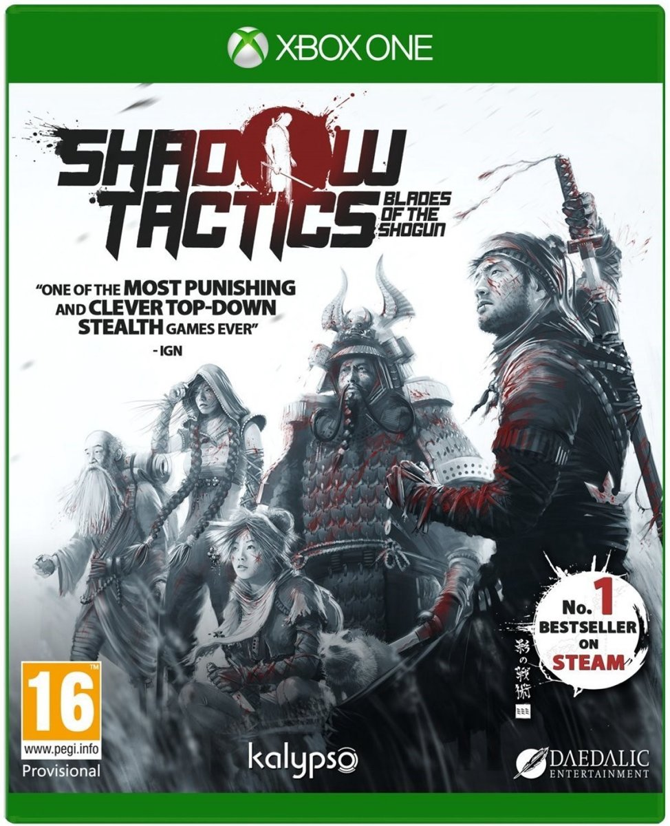 Shadow Tactics - Blades of The Shogun Xbox One