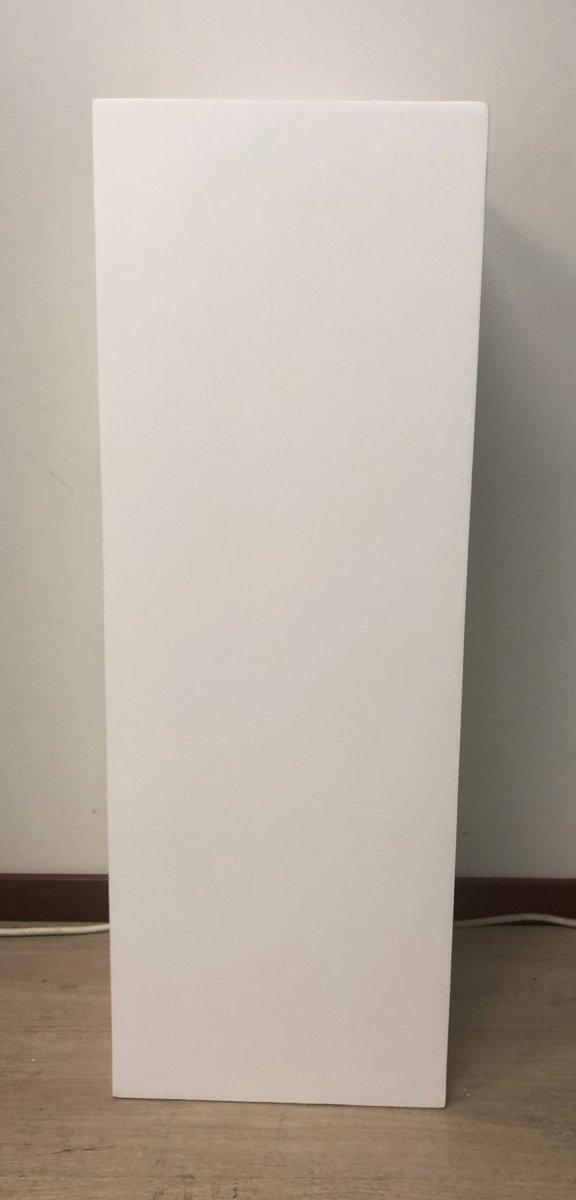 Zuil fiberstone wit 80cm, voor binnen en buiten kopen