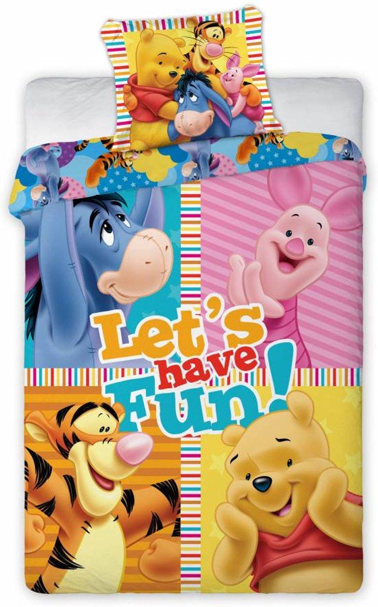 Winnie the Pooh dekbedovertrek 160x200 cm- eenpersoons kopen