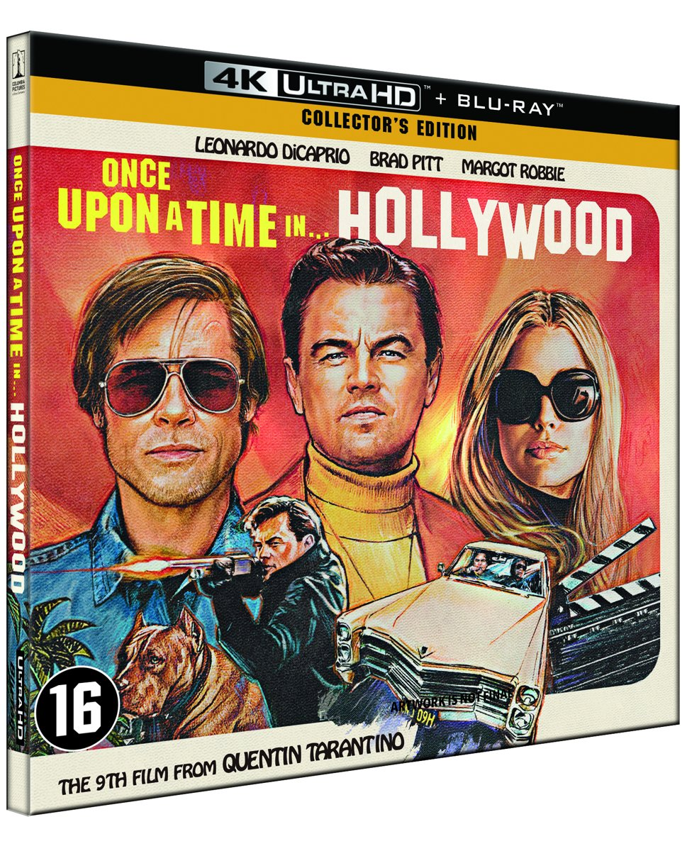 Once Upon A Time In Hollywood ( (4K Ultra HD Blu-ray) (Collector's Edition)-