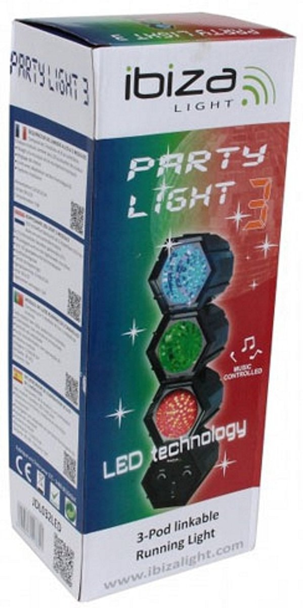 Disco LED lichten met microfoon kopen