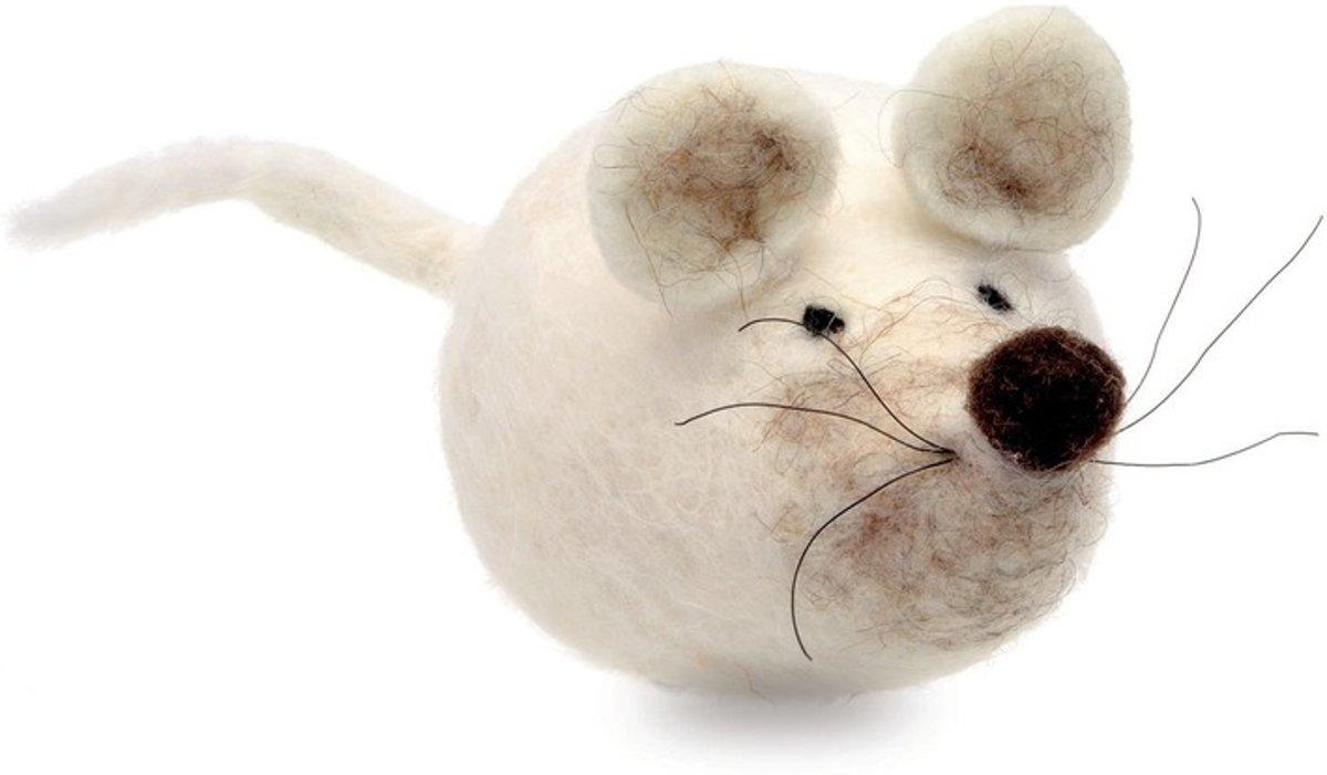 Maak je eigen muis van vilt pakket kopen