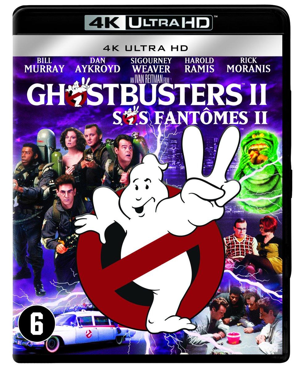 Ghostbusters 2 (4K Ultra HD Blu-ray)-